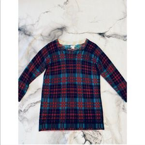J Crew Plaid Sweater